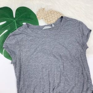 Athleta | Women's Gray Burnout Shirt!